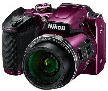 【送料無料】Nikon・ニコン B500PR チルト式液晶光学40倍ズームデジカメ COOLPIX B500 プラム【楽ギフ_包装】【***特別価格***】