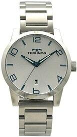 10/30までポイント2倍【送料無料】TECHNOS SWISS オールステンレス テクノス男性用腕時計 3針 T9562SS シルバー・ブルー メンズ【楽ギフ_包装】