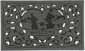 【送料無料】SETOCRAFT・セトクラフト SD-2173-GY ディズニー ミッキーマウス 玄関マット(ハート)グレー SD-2173-GY 【楽ギフ_包装】【***特別価格***】