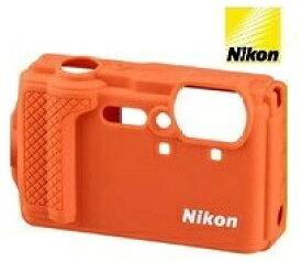 ニコン Nikon COOLPIX W300対応 シリコンジャケット CF-CP3 オレンジ