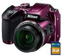 今ならSDカード8GB差し上げます【送料無料】Nikon・ニコン B500PR チルト式液晶光学40倍ズームデジカメ COOLPIX B500 …