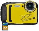 SDHCカード8GB付き【送料無料】FUJIFILM・フジフィルム FinePix XP140 イエロー 25m防水・1.8m耐衝撃構造デジカメ【楽…