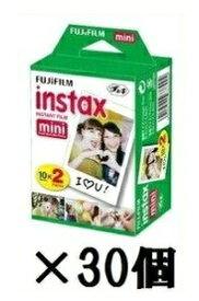 【2本パックが30個入り】【送料無料】FUJIFILM・フジフィルム インスタントカメラ チェキフィルム 2P instax mini 2P【楽ギフ_包装】