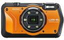【送料無料】リコー RICOH WG-6 オレンジ 防水 耐衝撃 防塵 耐寒 アウトドア GPS搭載 デジカメ CALSモード WG-6OR【***特別価格***】