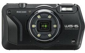 【送料無料】リコー RICOH WG-6 ブラック 防水 耐衝撃 防塵 耐寒 アウトドア GPS搭載 デジカメ CALSモード WG-6BK【***特別価格***】