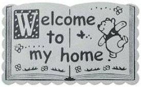 【送料無料】SETOCRAFT・セトクラフト ディズニー プーさん 玄関マット シャンパングレー SD-2174-ch 【***特別価格***】