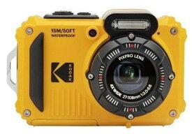 【送料無料】Kodak コダック デジタルカメラ 防水15m 耐衝撃2m PIXPRO WPZ2 イエロー【楽ギフ_包装】
