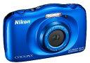 【送料無料】ニコン Nikon 防水 耐衝撃デジカメ クールピクス COOLPIX W150 ブルー【楽ギフ_包装】【***特別価格***】