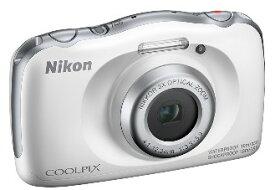 【送料無料】ニコン Nikon 防水 耐衝撃デジカメ クールピクス COOLPIX W150 WH ホワイト【楽ギフ_包装】【***特別価格***】