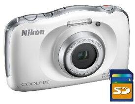 カメラポーチ、 SDHCカード8GB差し上げます【送料無料】ニコン Nikon W150 WH 防水 耐衝撃デジカメ クールピクス COOLPIX W150 WH ホワイト【楽ギフ_包装】
