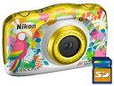 今ならSDHCカード8GB差し上げます【送料無料】ニコン Nikon W150 RS 防水 耐衝撃デジカメ クールピクス COOLPIX W150 …