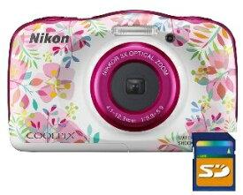 今ならSDHCカード8GB差し上げます【送料無料】ニコン Nikon W150FL 防水 耐衝撃デジカメ クールピクス COOLPIX W150 FL フラワー【楽ギフ_包装】【***特別価格***】