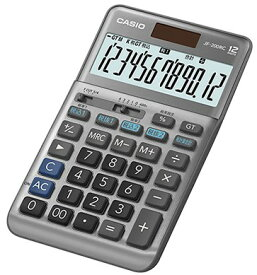 【ゆうパケットで送料無料】【代引き不可】CASIO カシオ 軽減税率電卓 ジャストタイプ JF-200RC【楽ギフ_包装】【***特別価格***】