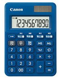 【ゆうパケットで送料無料】【代引き不可】キヤノン canon 軽減税率対応電卓 LS-100WT-MNB ミッドナイトブルー【楽ギフ_包装】【***特別価格***】