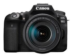 【送料無料】Canon・キヤノン デジタル一眼レフカメラ EOS 90D・EF-S18-135 IS USM レンズキット【楽ギフ_包装】【***特別価格***】