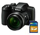 今ならSDHCカード4GB差し上げます【送料無料】Nikon・ニコン B600BK 光学60倍ズーム1440mmデジカメ COOLPIX B600 ブラック【楽ギフ_包装】【***特別価格***】