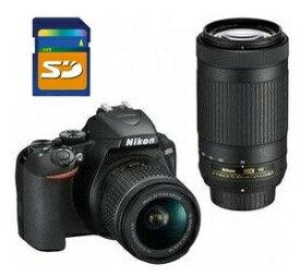 【送料無料】Nikon・ニコン デジタル一眼レフカメラ D3500 ダブルズームキット【楽ギフ_包装】【***特別価格***】