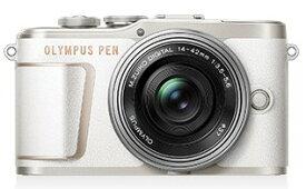 【送料無料】OLYMPUS・オリンパス デジカメ デジタル一眼レフ OLYMPUS PEN E-PL10 14-42mm EZ レンズキット ホワイト【楽ギフ_包装】【***特別価格***】