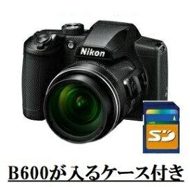 今ならカメラケース・SDHCカード8GB差し上げます【送料無料】Nikon・ニコン B600BK 光学60倍ズーム1440mmデジカメ COOLPIX B600 ブラック【楽ギフ_包装】【***特別価格***】