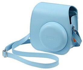 FUJIFILM・フジフィルム チェキ11 instax mini11用 カメラケース ブルー(速写ケース) チェキケース・バッグ カメラケース【楽ギフ_包装】【***特別価格***】