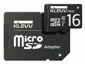 【ゆうパケットで送料無料】【代引き不可】KLEVV ESSENCORE マイクロSDカード16GB U016GUC1U18-DK-JP 【***特別価格***】
