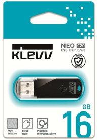 【ゆうパケットで送料無料】【代引き不可】ESSENCORE KLEVV キャップ式 USB 2.0フラッシュメモリ16GB K016GUSB2-C2【***特別価格***】