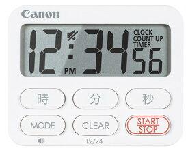【送料無料】キヤノン Canon 大型液晶 キッチンタイマー CT-50-WH 大型クロックタイマー【楽ギフ_包装】