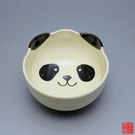 パンダ 茶碗 与し三 【 抹茶茶碗 】