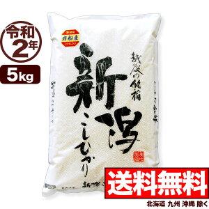 岩船産コシヒカリ 5kg 令和2年産 新潟産 米【送料無料】(北海道、九州、沖縄除く)