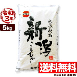 新米 岩船産コシヒカリ 5kg 令和3年産 新潟産 米【送料無料】(北海道、九州、沖縄除く)