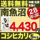 南魚沼産コシヒカリ 5kg H28年産 米 【送料無料】(沖縄を除く)
