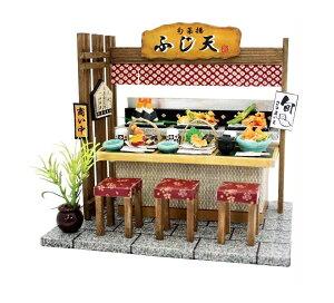 ビリー ドールハウスキット 8857 天ぷら屋【お取り寄せ商品】【ドールハウス、手作りキット、ジオラマ】