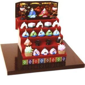 ビリー ドールハウスキット 6622 ミニミニひな人形5段飾りキット【お取り寄せ商品】【ひな祭り、雛人形、雛飾り、桃の節句、手作りキット、ジオラマ】