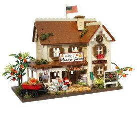 ビリー ドールハウスキット 8813 ウッディハウスコレクション オレンジファーム【お取り寄せ商品】【ドールハウス、手作りキット、ジオラマ】