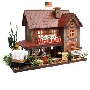 ビリー ドールハウスキット 8819 ウッディハウスコレクション ウエスタンパブ【お取り寄せ商品】【ドールハウス、手作りキット、ジオラマ】