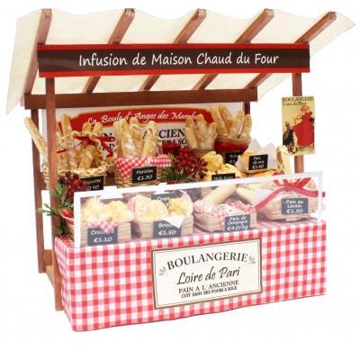 ビリー ドールハウスキット 8841 パリのマルシェキット パリのパン屋さん【お取り寄せ商品】【ドールハウス、手作りキット、ジオラマ】