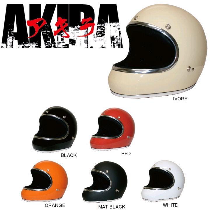 DAMMTRAX ダムトラックス AKIRA アキラ ストリート系フルフェイスヘルメット Mサイズ(57〜58cm)【メーカー直送品】【同梱/代引不可】【フルフェイスヘルメット】