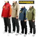 ハマー 防水 防寒 レインスーツ 上下セット HUMMER HM-3600 ダークネイビー カーキ レッド ベージュ 【$ 合羽 アウト…