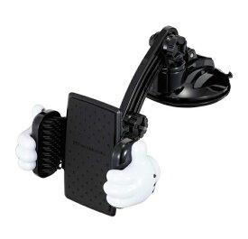 ナポレックス WD-400 スマートフォンホルダー 3D吸盤L ディズニー ミッキーマウス WD400【お取り寄せ商品】【カー用品、収納、スマホホルダー、iPhoneホルダー】