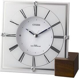 CITIZEN(シチズン) 4RY707-003 マリアージュ707 掛置き兼用電波時計【リズム時計・置時計・掛時計・クロック】【お取り寄せ商品】【代引不可】