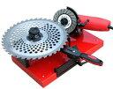 ニシガキ工業 チップソー研磨機「早研ぎ」N-845 草刈用,木工用,金属用チップソーを手軽に再研磨 外径100-305mmまで […