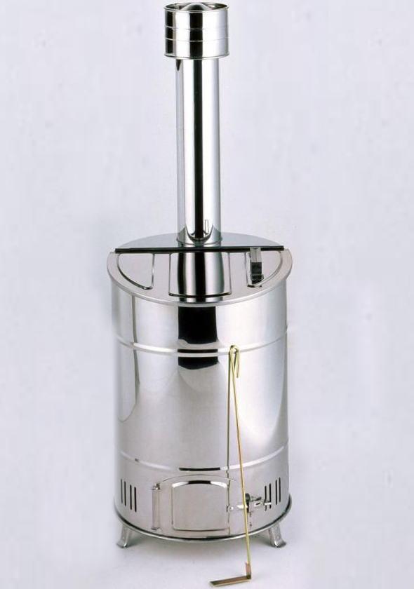 グリーンライフ 落ち葉焼却器 OED-60S 家庭用ステンレス製焼却炉 容量60L 耐熱性,耐蝕性が高くサビに強い! [送料無料][代引不可][北海道,沖縄は送料別途1,080円]