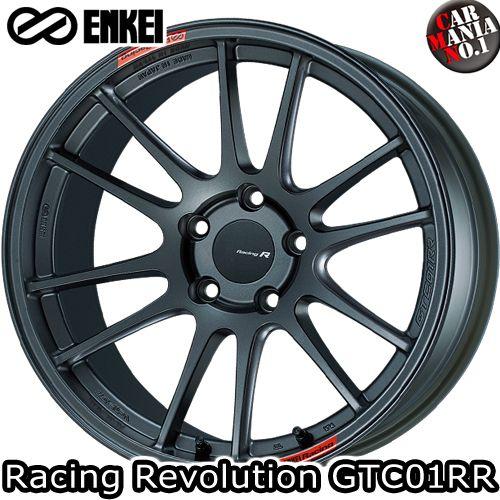 (4本セット)18×8.5J +42 5/114.3 ENKEI(エンケイ) レーシングレボリューション GTC01RR カラー:MDG 18インチ 5穴 P.C.D114.3 ホイール新品4本 Racing Rvolution
