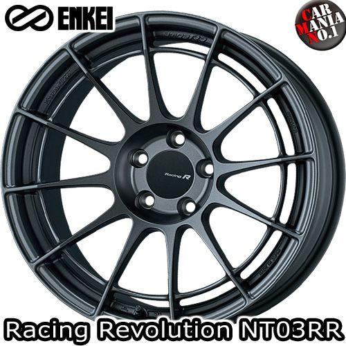 (4本セット) 18×8.5J +47 5/120 ENKEI(エンケイ) レーシングレボリューション NT03RR カラー:MDG 18インチ 5穴 P.C.D120 ボア径:φ72.5 ホイール新品4本 Racingr Rvolution