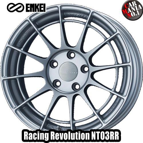 (4本セット) 17×9.0J +40 5/100 ENKEI(エンケイ) レーシングレボリューション NT03RR カラー:MSS 17インチ 5穴 P.C.D100 ホイール新品4本 Racingr Rvolution