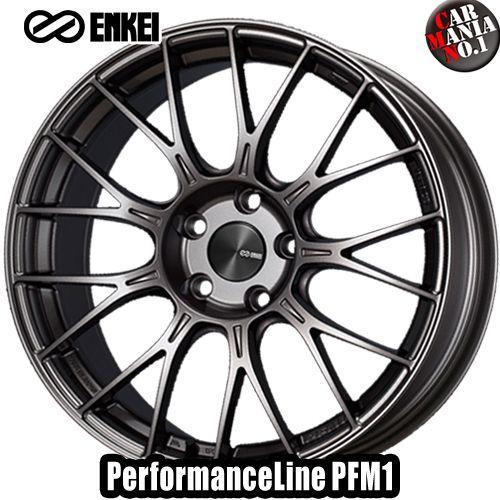 (4本セット) 18×9.0J +45 5/112 ENKEI(エンケイ) パフォーマンスライン PFM1 カラー:Dark Silver 18インチ 5穴 P.C.D112 ボア径:φ75 ホイール新品4本 PerformanceLine