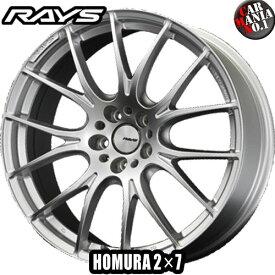 19×8.0J +48 5/100 RAYS(レイズ) ホムラ 2×7(ツーバイセブン) カラー:SP 19インチ 5穴 P.C.D100 FACE-0ホイール新品1本 HOMURA 2X7