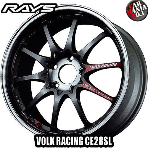 (4本セット) 18×9.5J +42 5/120 RAYS(レイズ) ボルクレーシング CE28SL カラー:PG 18インチ 5穴 P.C.D120 ボア径:φ75 ホイール新品4本 VOLK RACING 鍛造1ピース