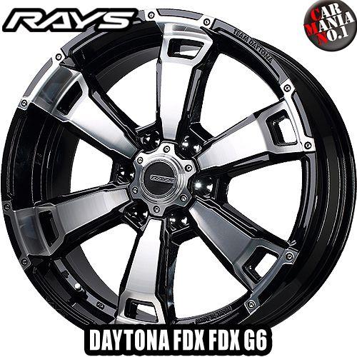 (4本セット) 17×8.0J +20 6/139.7 RAYS(レイズ) チームデイトナ FDX G6 カラー:BAZ 17インチ 6穴 P.C.D139.7 ホイール新品4本 TEAM DAYTONA