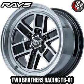 (購入特典有)(在庫有り)(4本セット) 16×6.5J +38 6/139.7 RAYS(レイズ) トゥーブラザースレーシング TB-01 カラー:BAZ 16インチ 6穴 P.C.D139.7 ホイール新品4本 TWO BROTHERS RACING TBR ハイエース